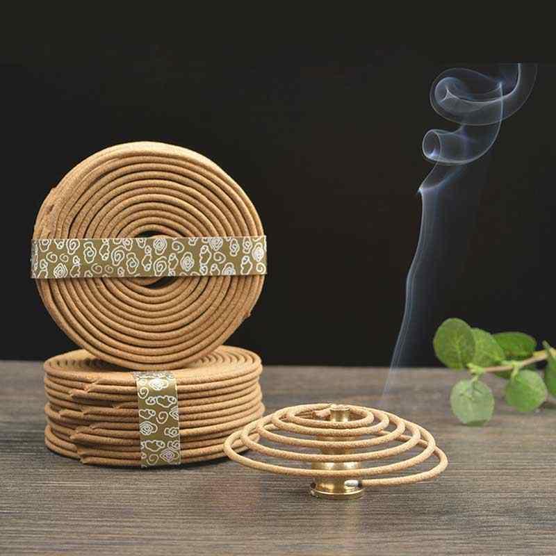 48 ชิ้น/กล่องพระพุทธรูปธูปอินเดียธรรมชาติกลิ่นไม้จันทน์ Coil ภายในพุทธยุง A $