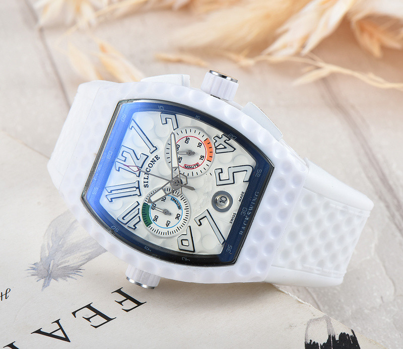 2020 Top Brand Gift Big Luxury Siliconce Dz Auto Date Week Display Luminous Diver Watches Stainless Steel Wrist Watch Male Clock