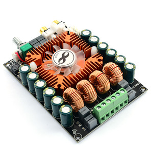 Image 2 - UNISIAN  TDA7498E class D audio 2.0 Channel  Amplifier board High Power Hifi BTL mono 220w Amplifiers for  home sound systems