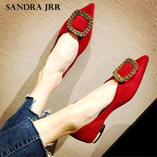 SANDRA JRR Women Flats Shoes Crystal Buc