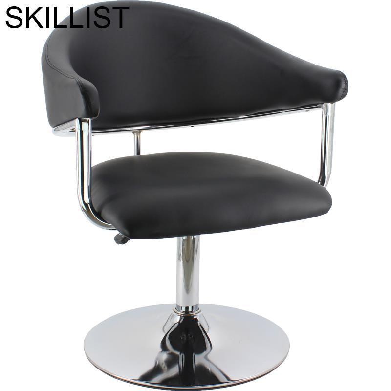 Cabeleireiro Silla Schoonheidssalon Makeup Stoel De Barbeiro Mueble Salon Sessel Cadeira Barbearia Barbershop Shop Barber Chair