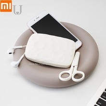 Youpin جوردانجودي الموضة الإبداعية صينية من السيليكون ساعة للهاتف المحمول خاتم التنسيب صندوق تخزين مخصصة