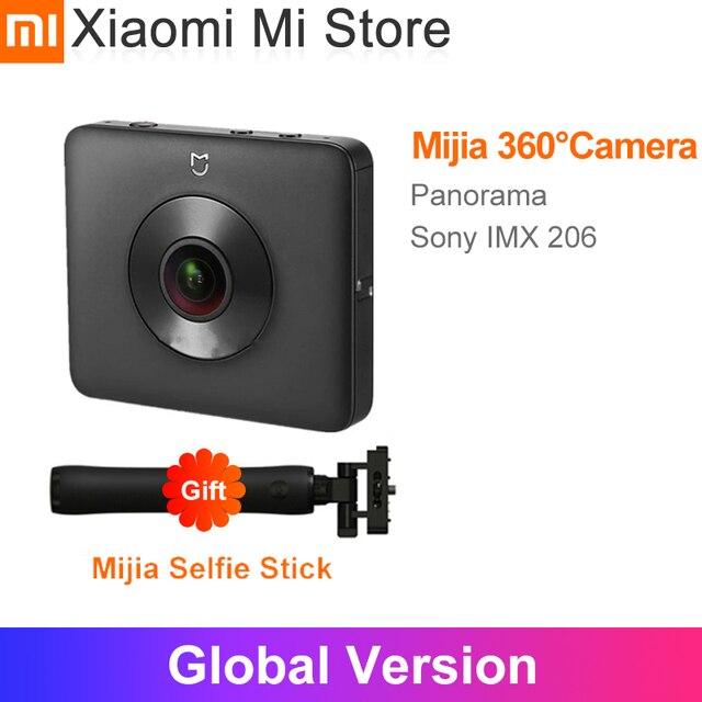 In Stock Xiaomi Mijia 360° Panoramic  Recording Travel Camera IP67 rating WiFi Bluetooth Mini   3.5K Video  Sport Camcorder