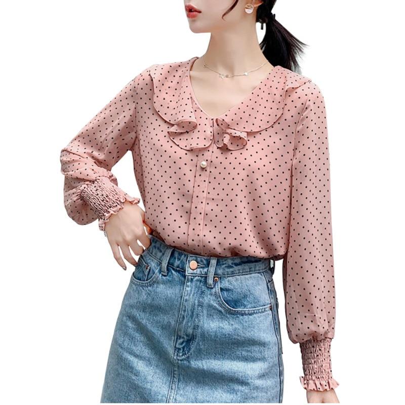 women's ruffle shirt