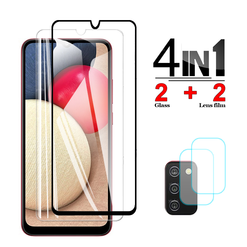 Защитное стекло для Samsung A02s, стекло для камеры Samsung Galaxy A02s, A 02s, 6,5 дюйма, SM-A025F/DS, A025F, защита экрана, защитная пленка