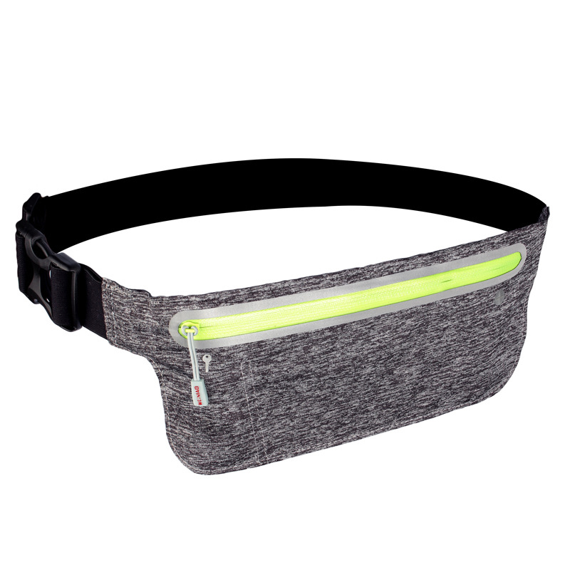 running - Sport Running Reflective Belt Waist Pack Adjustable Pouch Outdoor Sweatproof Hiking Gear Phone Bag Racing Gym Waist Bag #42