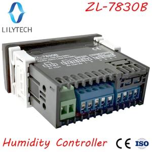 Image 2 - ZL 7830B 、 30A リレー、 100 240Vac 、デジタル、湿度コントローラ、恒湿、アラーム出力、 lilytech