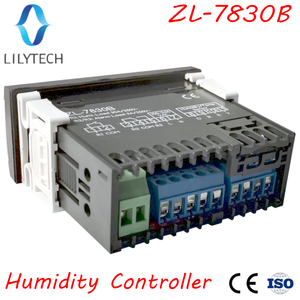 Image 2 - ZL 7830B, 30A relais, 100 240Vac, Digital, Feuchtigkeit Controller, Hygrostat, mit Alarmierend ausgang, Lilytech