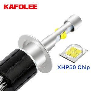 Image 1 - Kafolee Geen Lawaai H4 H7 Canbus H11 H8 9012 H9 HIR2 HB3 HB4 9005 9006 H13 H1 Led XHP50 Chip auto Koplampen 6000K 4300K 24V12V