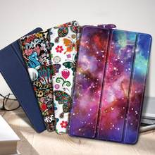 Case untuk Samsung Galaxy Tab A 10.1 2019 SM-T510 T515 Tablet Galaxy Tab A 10.1 2019 Cover Case + Hadiah(China)