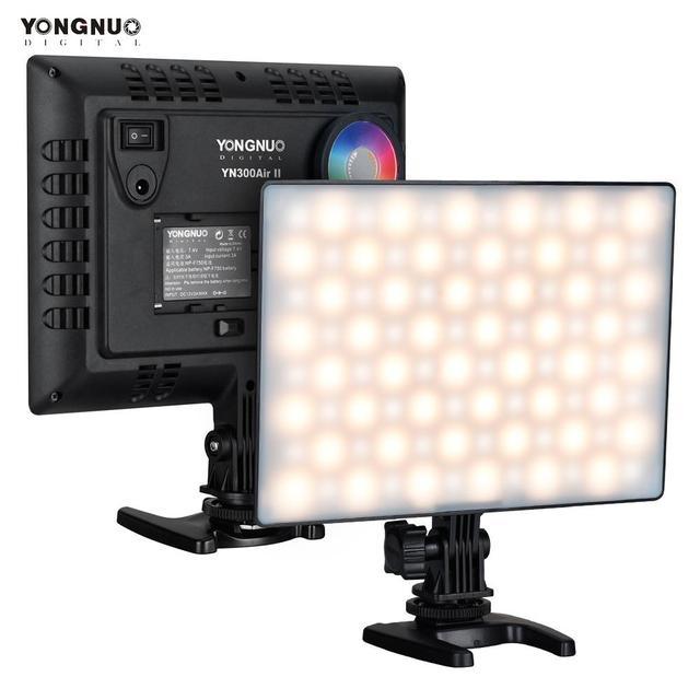YONGNUO YN300 Air IIไฟLED RGB 3200K 5600Kหลอดไฟเติมรีโมทคอนโทรลสำหรับกลางแจ้งถ่ายภาพ