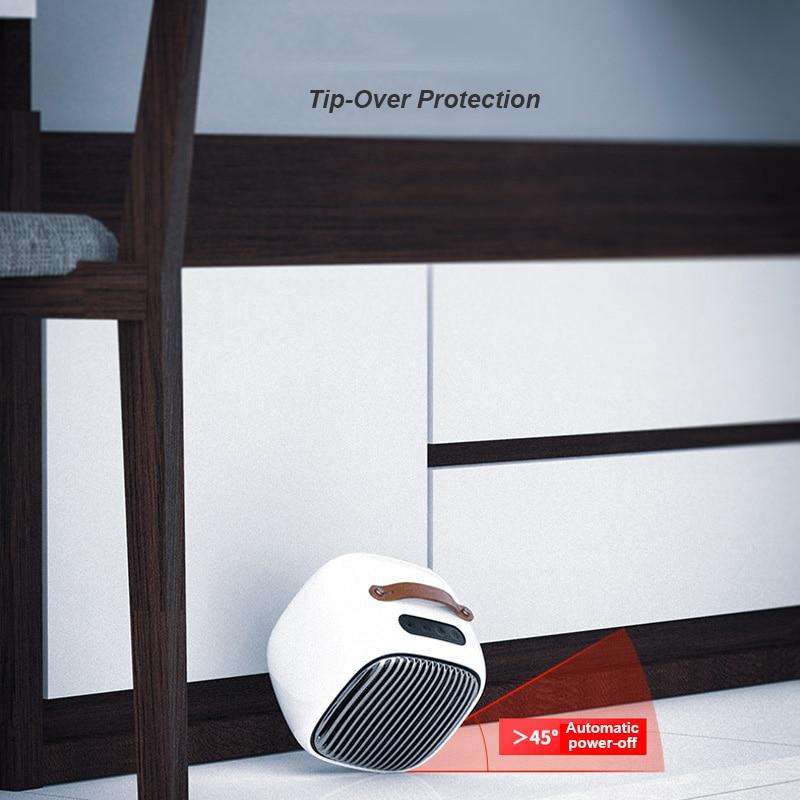 220V hiver électrique ventilateur chaud petit ménage trois vitesses réglage ignifuge chauffage bureau 3s vitesse chaude bureau plus chaud - 3