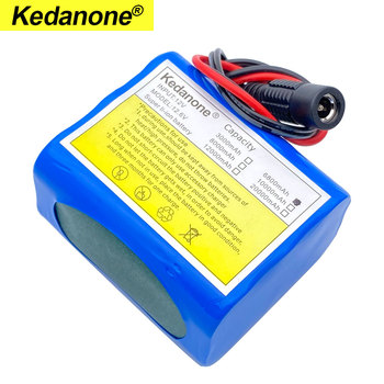 12V 6800mah battery 18650 Li-ion 6.8 Ah Rechargeable batteries  with BMS Lithium Battery packs Protection Board +12.6V Charger 2