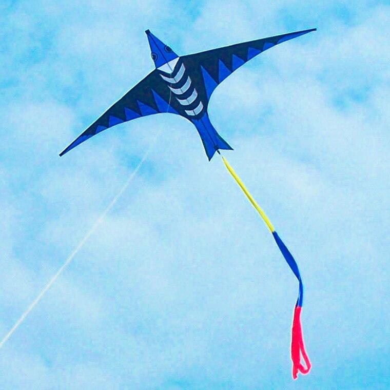 Chegam novas ao ar livre diversão esportes potência bonito animal pipas pipa com alça/corda fácil de voar - 2