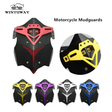 WINTUWAY Motorcycle CNC Aluminum Rear Splash Guard Motorbike Mudguard Case For HONDA MSX125 Wear Resistant
