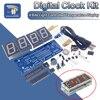 Kit électronique MCU DC 5V, 1 pouce, thermomètre contrôlé par lumière, Tube rouge, 4 Bits