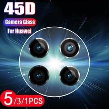 5/3/1 pièces pour huawei mate 20 20X 30 lite pro caméra lentille caméra protecteur verre trempé film de protection téléphone écran protecteur