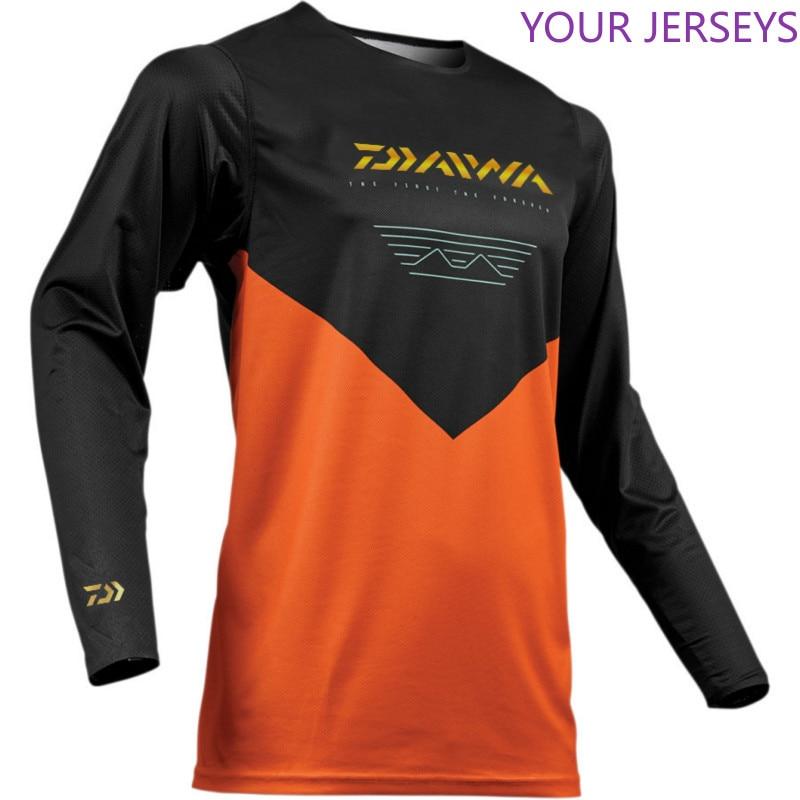 2020 Men Fishing Shirt Thin Breathable Hygroscopicity Quick Dry Anti-UV Fishing Clothing XS-5XL Jacket Male thumbnail