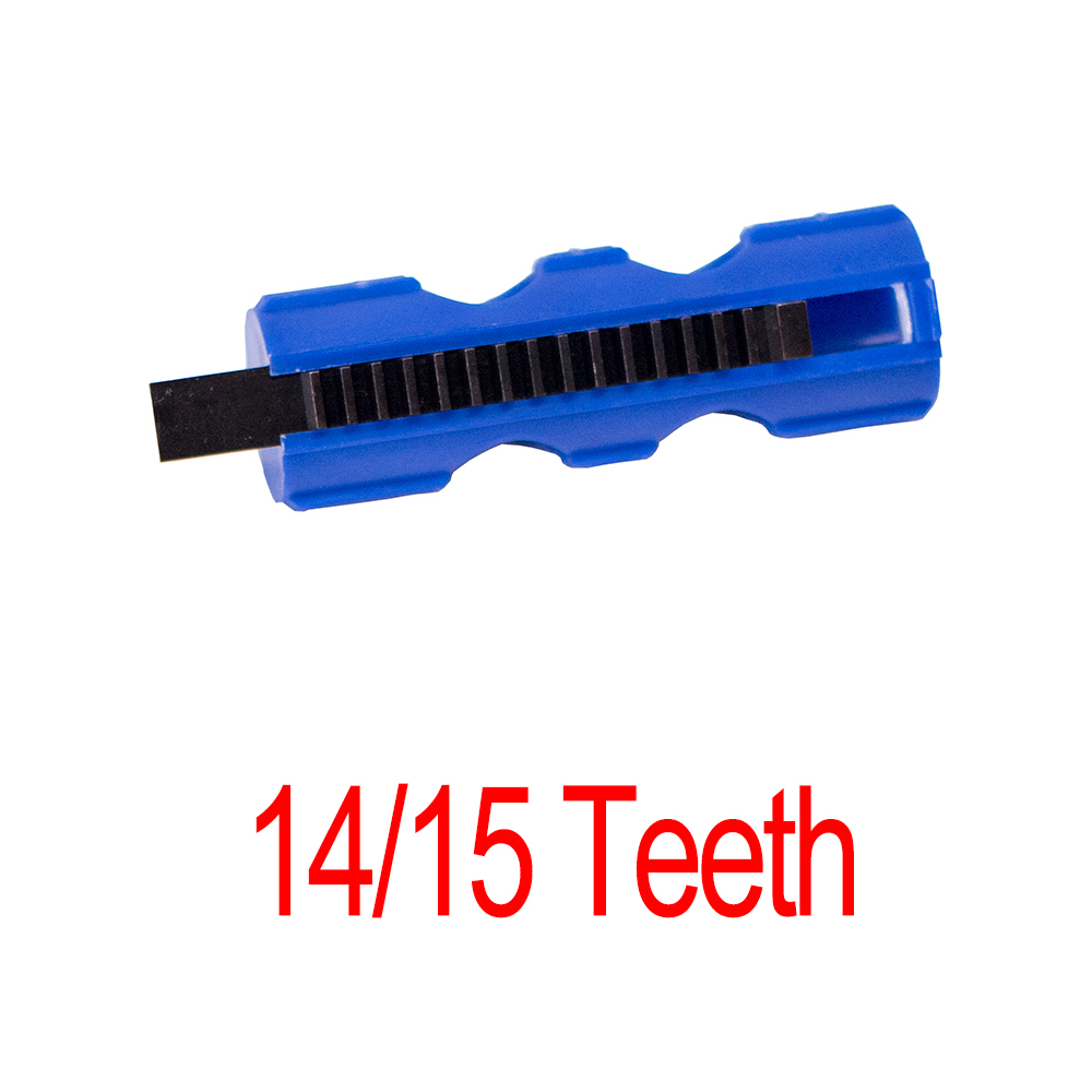 14/15 Teeth Piston Ightweight Blue Fibre Reinforced Full Steel For Airsoft M4 AK G36 MP5 Gearbox Tactical Hunting Accessories