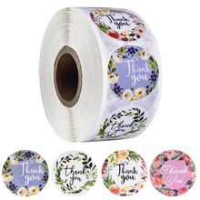 Gift Decoration Stickers Seal-Labels Custom Scrapbooking Thank-You Handmade 500pcs/Roll