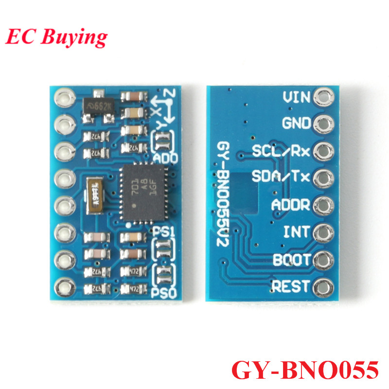GY BNO055 модуль датчика BNO055 9DOF 9 осевая Плата датчика абсолютной ориентации IIC 32Bit микроконтроллер для Arduino Electronic DIY Интегральные схемы      АлиЭкспресс
