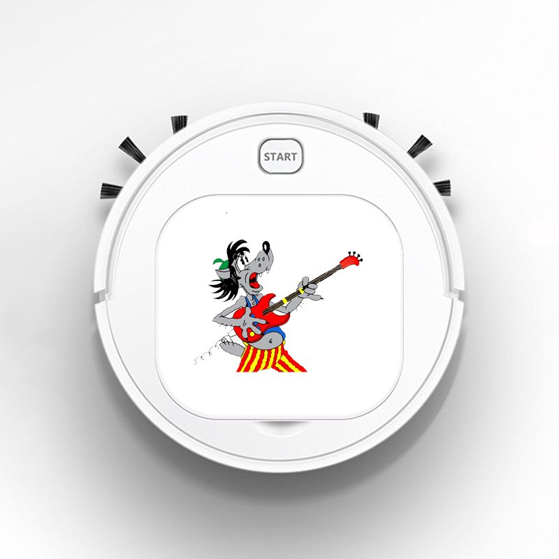 Robot Vacuum Cleaner Intelligent Automatic Mopping Clean Robot for Hard Floor Carpet cartoon anima cartoon well, okay colorful