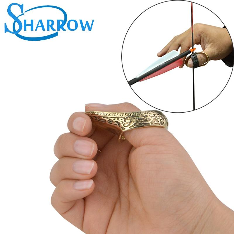 Protetor de Dedo para Tiro ao Alvo Acessório de Proteção de Bronze para Uso ao ar Tiro ao Alvo Livre Peça 1