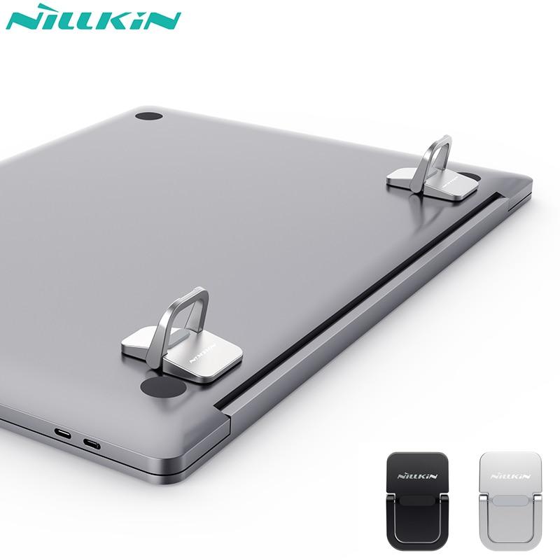 NILLKIN Bolster portable stand For Apple MacBook Air /Pro Huawei MateBook RedmiBook Zinc alloy creative stand laptop holder 1
