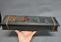 Свадебное украшение тибетское дерево бодхи исламский текст Будда буддистские скульптуры с сутрой сердца набор книг