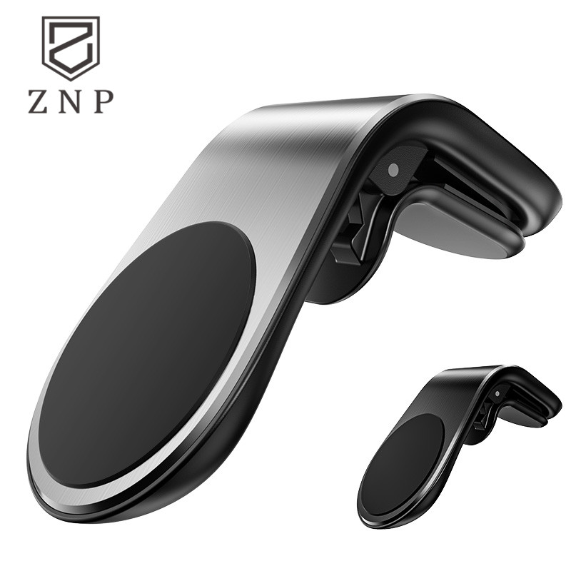 ZNP Magnetic Car Phone Holder Air Vent Mount Stand In Car Magnet GPS Mobile Phone Holder For IPhone X 8 7 Samsung S9 S10 Stander