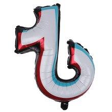 5 pçs balões de alumínio hélio bolas de ar decoração de festa de aniversário ou festa de despedida decoração de natal para casa