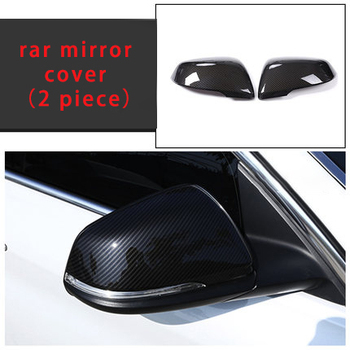 For BMW new X2 F39 carbon fiber rear mirror cover molding trim 2pcs