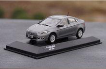 1/43 Scale Fiat viaggio Grey Diecast Car Model Toy Collection Gift NIB