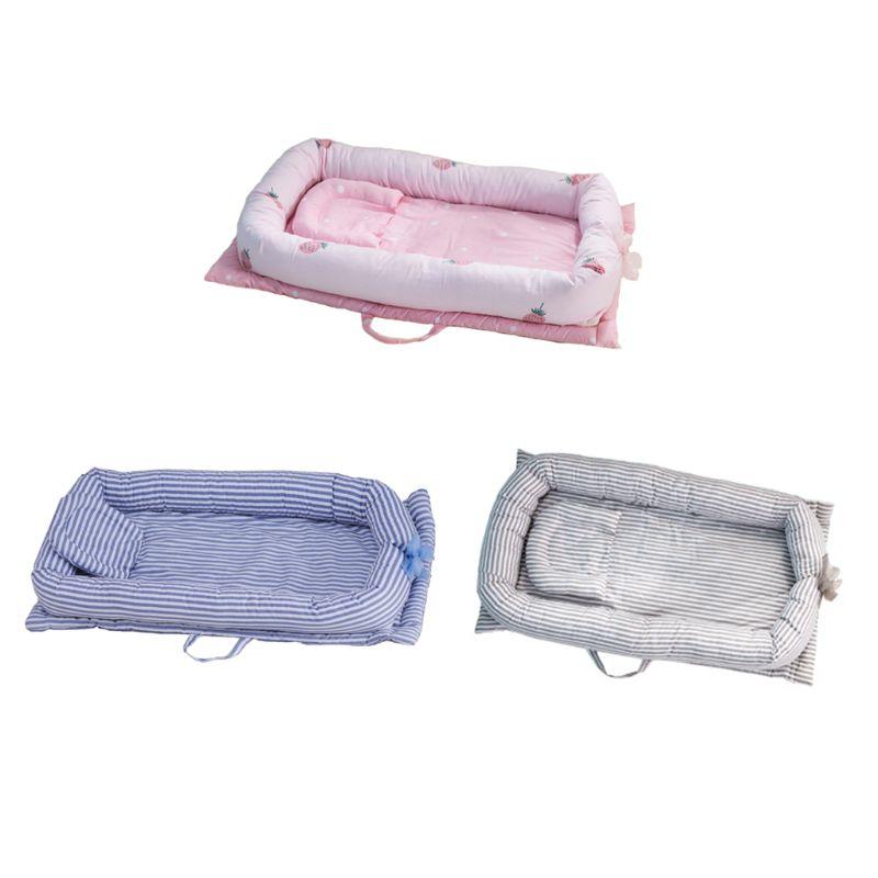 Infant Nest Bed Crib Newborn Crib Travel Bed Newborn Bumper Baby Kid Cradle NEW