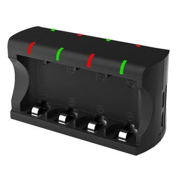 8 слотов многофункциональное зарядное устройство безопасности пожарный ПК и АБС жаростойкий для RCR123A 16340 3,7 в перезаряжаемый аккумулятор