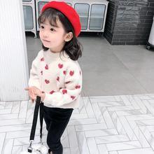 Вельветовый свитер для девочек Детский свитер г. Новая детская одежда свитер для девочек осенне-зимний свитер детская одежда