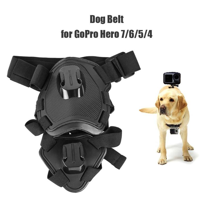 Action Camera Dog Harness Mount Adjustable For GoPro Hero 7 6 5 4 Xiaoyi Sports Cam Chest Strap Holder