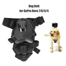 عمل كاميرا الكلب تسخير جبل قابل للتعديل ل GoPro بطل 7 6 5 4 Xiaoyi الرياضة كام الصدر حزام حامل