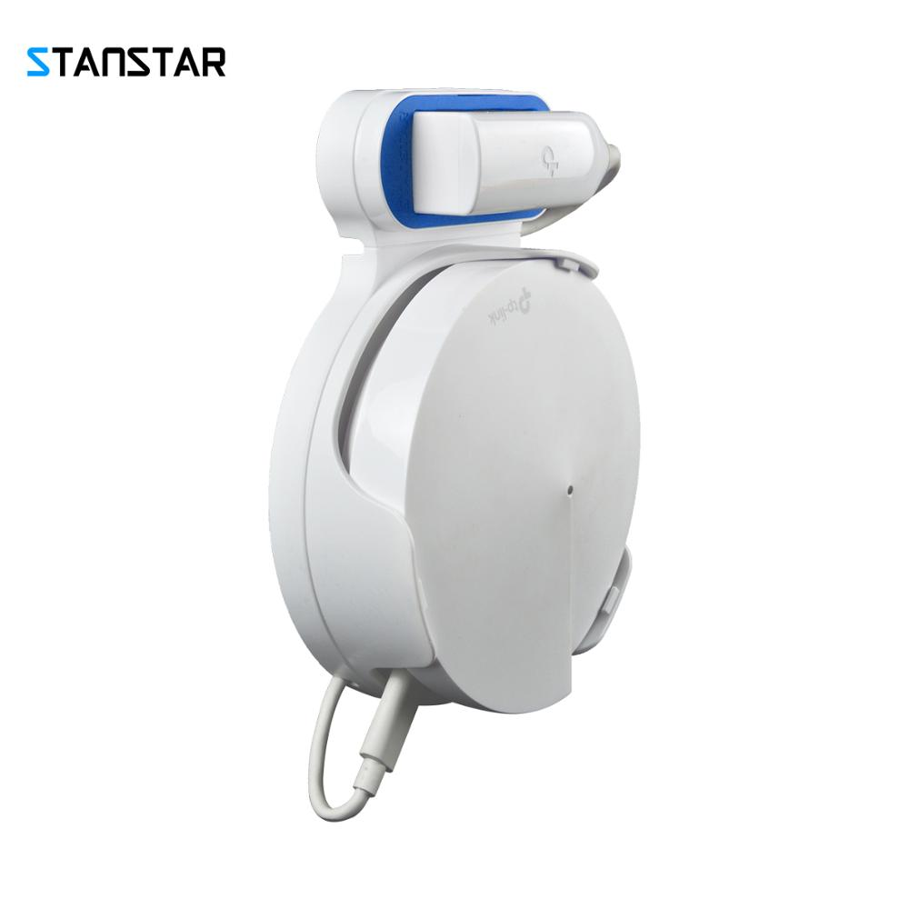 STANSTAR Wall Mount for TP-Link Deco M5 Whole Home Mesh WiFi SystemSpace Saving Wall Holder Plug in Without Messy Wires