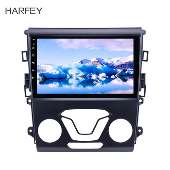 Harfey Android 8.1 9 inch All-in-one for Ford Mondeo 2012-2014 Aftermarket GPS Navigation Car Audio System 3G WiFi Radio Tuner