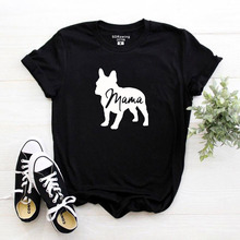 French Bulldog Clothing Dog Lover Gifts For Owners T Shirt Mom Pet Animal Mama Ladies Tee tops