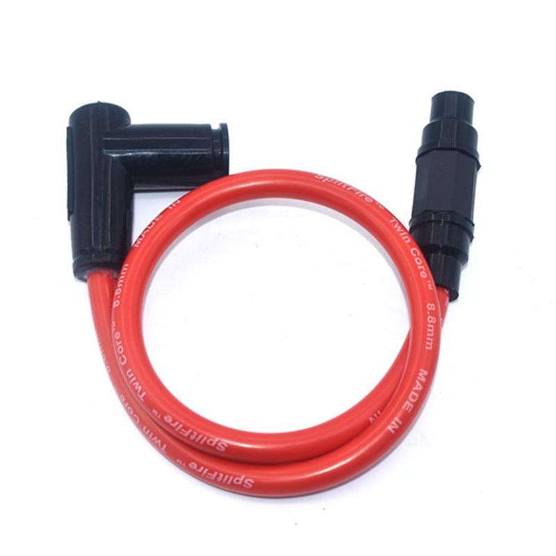 Высокопроизводительный гоночный кабель для катушек зажигания для грязевого питбайка подходит для CRF 50 70 110 125 KLX BBR ATOMIK Бесплатная доставка