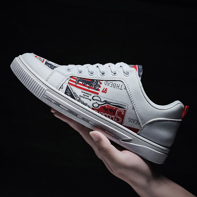 New 2020 Fashion Sneakers Men Shoes Spring Men Casual Shoes Cool Young Man Street Shoes Flat Male Footwear A2141