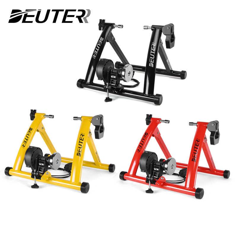 Pelatih Bersepeda Roller Indoor Sepeda Latihan Pelatih Pelatihan Rumah 6 Speed Magnetic Resistance Sepeda Pelatih Jalan MTB Sepeda