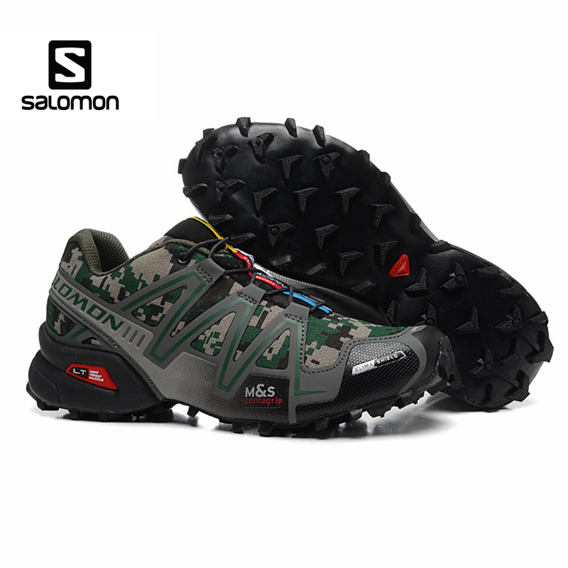 Salomon SPEEDCROSS 3 Men Shoes Sport Outdoor Male Athletic Sports Sneakers Speed Cross Solomon Zapatillas Hombre Fencing Shoes