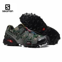 Salomon speedcross 3 homens sapatos esporte ao ar livre masculino atlético esportes tênis de velocidade cruz solomon zapatillas hombre esgrima sapatos
