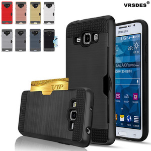 For Samsung Galaxy Note 9 8 10 S9 S8 S10 Plus Shockproof Hybrid Armor Case For Samsung Note 10+ 5G S10e Card Holder Slot Cover(China)