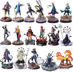 Naruto Action Figures Madara Kakashi Itachi Tsunade Might Guy Hashirama Statue Anime Naruto Shippuden Figurine Dioarama Pvc Toys