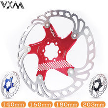 VXM Bicycle Floating brake disc float/ultralight MTB bike pads six hole rotors 140/160/180/203mm parts