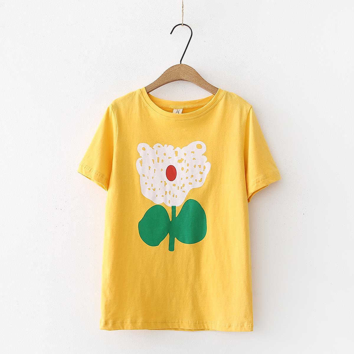 Summer T-shirt Women Fashion Printed T Shirts Female Short Sleeve Tee Shirt tshirt tops tees